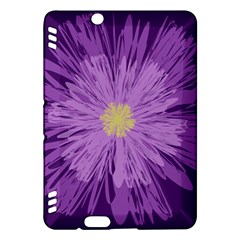 Purple Flower Floral Purple Flowers Kindle Fire Hdx Hardshell Case