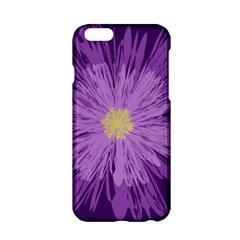 Purple Flower Floral Purple Flowers Apple iPhone 6/6S Hardshell Case
