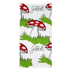 Mushroom Luck Fly Agaric Lucky Guy Shower Curtain 36  X 72  (stall)