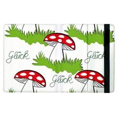 Mushroom Luck Fly Agaric Lucky Guy Apple Ipad 3/4 Flip Case