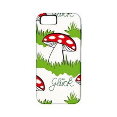 Mushroom Luck Fly Agaric Lucky Guy Apple iPhone 5 Classic Hardshell Case (PC+Silicone)