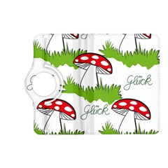 Mushroom Luck Fly Agaric Lucky Guy Kindle Fire Hd (2013) Flip 360 Case