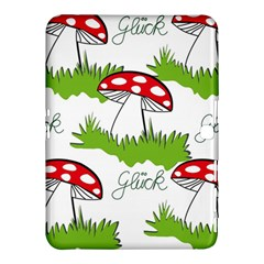 Mushroom Luck Fly Agaric Lucky Guy Samsung Galaxy Tab 4 (10 1 ) Hardshell Case