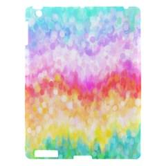 Rainbow Pontilism Background Apple Ipad 3/4 Hardshell Case