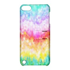 Rainbow Pontilism Background Apple iPod Touch 5 Hardshell Case with Stand