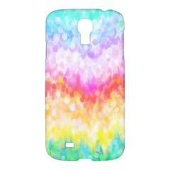 Rainbow Pontilism Background Samsung Galaxy S4 I9500/I9505 Hardshell Case