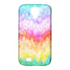 Rainbow Pontilism Background Samsung Galaxy S4 Classic Hardshell Case (pc+silicone)