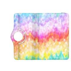 Rainbow Pontilism Background Kindle Fire Hdx 8 9  Flip 360 Case