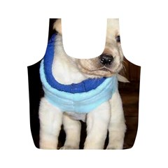 6 Yl Puppy Full Print Recycle Bags (M)
