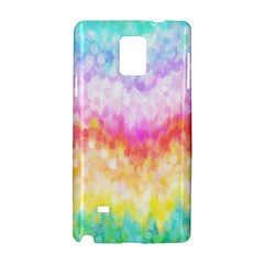 Rainbow Pontilism Background Samsung Galaxy Note 4 Hardshell Case