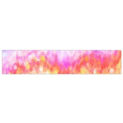Rainbow Pontilism Background Flano Scarf (Small)