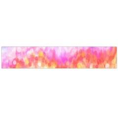 Rainbow Pontilism Background Flano Scarf (large)