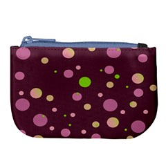 Decorative Dots Pattern Large Coin Purse