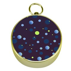 Decorative dots pattern Gold Compasses