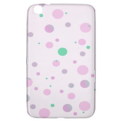Decorative dots pattern Samsung Galaxy Tab 3 (8 ) T3100 Hardshell Case