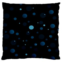 Decorative dots pattern Standard Flano Cushion Case (Two Sides)