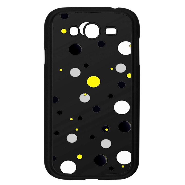 Decorative dots pattern Samsung Galaxy Grand DUOS I9082 Case (Black)