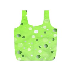 Decorative Dots Pattern Full Print Recycle Bags (s)