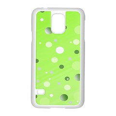 Decorative dots pattern Samsung Galaxy S5 Case (White)