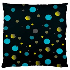 Decorative dots pattern Standard Flano Cushion Case (One Side)