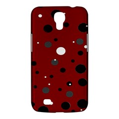 Decorative dots pattern Samsung Galaxy Mega 6.3  I9200 Hardshell Case
