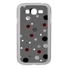 Decorative Dots Pattern Samsung Galaxy Grand Duos I9082 Case (white)