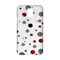 Decorative dots pattern Samsung Galaxy S5 Hardshell Case