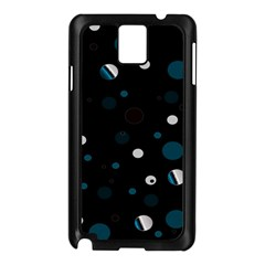 Decorative Dots Pattern Samsung Galaxy Note 3 N9005 Case (black)