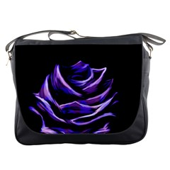 Rose Flower Design Nature Blossom Messenger Bags