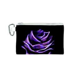 Rose Flower Design Nature Blossom Canvas Cosmetic Bag (s)