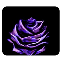 Rose Flower Design Nature Blossom Double Sided Flano Blanket (small)