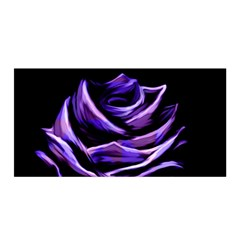 Rose Flower Design Nature Blossom Satin Wrap