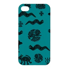 Aztecs Pattern Apple Iphone 4/4s Premium Hardshell Case
