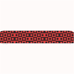 Abstract Background Red Black Small Bar Mats