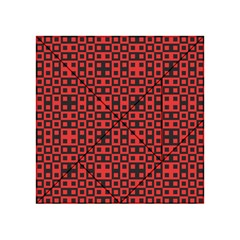 Abstract Background Red Black Acrylic Tangram Puzzle (4  X 4 )