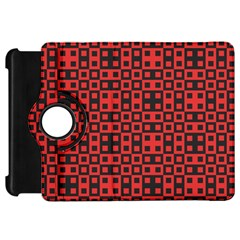 Abstract Background Red Black Kindle Fire HD 7