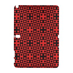 Abstract Background Red Black Galaxy Note 1