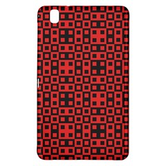 Abstract Background Red Black Samsung Galaxy Tab Pro 8.4 Hardshell Case