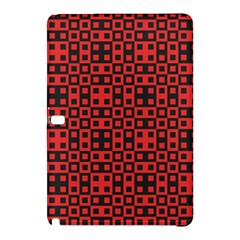 Abstract Background Red Black Samsung Galaxy Tab Pro 12 2 Hardshell Case