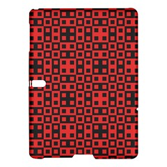 Abstract Background Red Black Samsung Galaxy Tab S (10 5 ) Hardshell Case