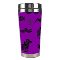 Aztecs Pattern Stainless Steel Travel Tumblers