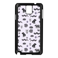 Aztecs Pattern Samsung Galaxy Note 3 N9005 Case (black)