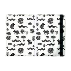 Aztecs pattern Apple iPad Mini Flip Case