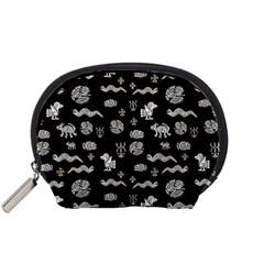 Aztecs pattern Accessory Pouches (Small)