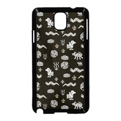 Aztecs Pattern Samsung Galaxy Note 3 Neo Hardshell Case (black)