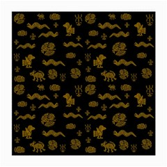 Aztecs Pattern Medium Glasses Cloth (2 Side)