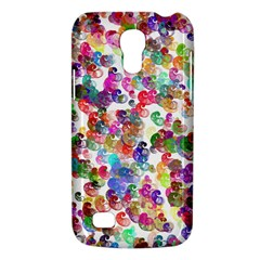 Colorful spirals on a white background       Samsung Galaxy S4 I9500/I9505 Woven Pattern Leather Folio Case