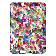 Colorful spirals on a white background       Kindle Fire HD (2013) Hardshell Case