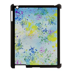 Watercolors splashes        Apple iPad Mini Hardshell Case (Compatible with Smart Cover)