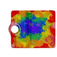 Colorful paint texture     Kindle Fire HDX Flip 360 Case